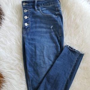 Old navy super skinny Jean's.